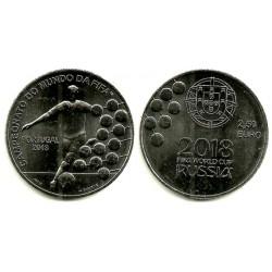 Portugal. 2018. 2,50 Euro (SC) Mundial Rusia