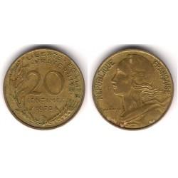 (930) Francia.  1970. 20 Centimes (MBC)