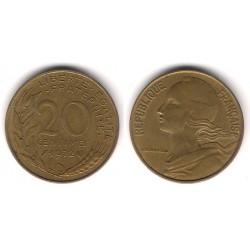 (930) Francia.  1972. 20 Centimes (MBC)