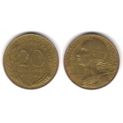 (930) Francia.  1974. 20 Centimes (MBC)