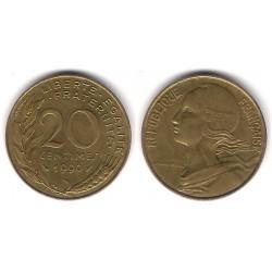 (930) Francia.  1990. 20 Centimes (MBC)