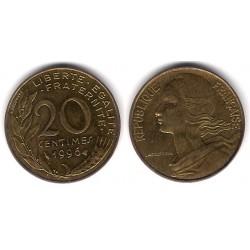 (930) Francia.  1996. 20 Centimes (MBC)