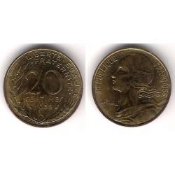(930) Francia.  1982. 20 Centimes (EBC)