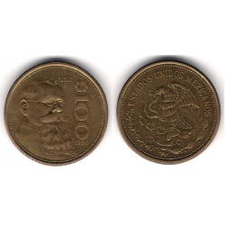 (493) Estados Unidos Mexicanos. 1985. 100 Pesos (SC)