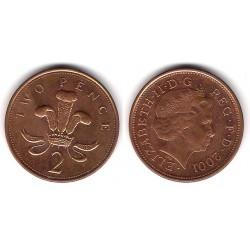 (987) Gran Bretaña. 2001. 2 Pence (MBC+)
