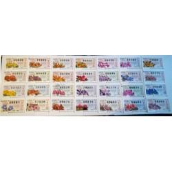 Loteria del Jueves. 1996. Año Completo (52 Décimos)