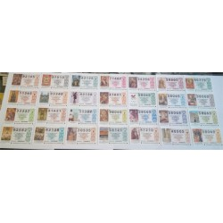 Loteria Nacional. 1998. Año Completo (51 Décimos)