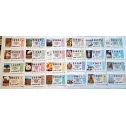 Loteria Nacional. 1999. Año Completo (51 Décimos)