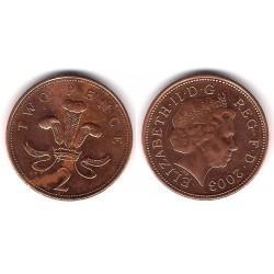 (987) Gran Bretaña. 2003. 2 Pence (MBC)