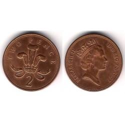 (936a) Gran Bretaña. 1997. 2 Pence (MBC+)