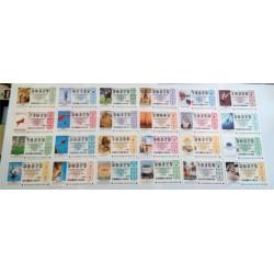 Loteria Nacional. 2002. Año Completo (51 Décimos)