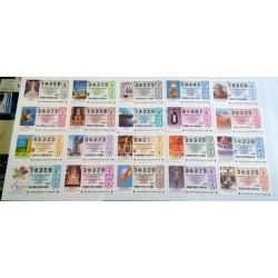Loteria Nacional. 2003. Año Completo (51 Décimos)