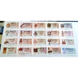Loteria del Jueves. 2000. Año Completo (51 Décimos)