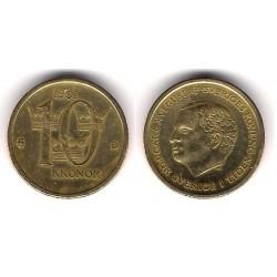 (877) Suecia. 1991. 10 Kronor (EBC)