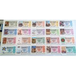 Loteria Nacional. 2004. Año Completo (51 Décimos)