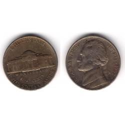 (A192) Estados Unidos de América. 1992(D). 5 Cents (BC+)