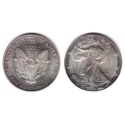 (273) Estados Unidos de América. 2004. 1 Dollar (EBC) (Plata)