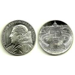 Medalla Benedicto XVI (SC) (Plata)
