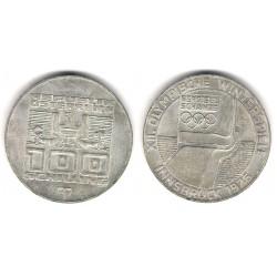(2929) Austria. 1974. 100 Schillings (MBC) (Plata)