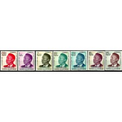 (4 a 10) Guinea Ecuatorial. 1970. Serie Completa. Francisco Macias (Nuevo)