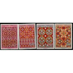 (195 a 198) Marruecos. 1968. Serie Completa. Ornamentos (Nuevo)