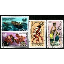 (2340 a 2343) 1976. Serie Completa. Juegos Montreal (Usado)