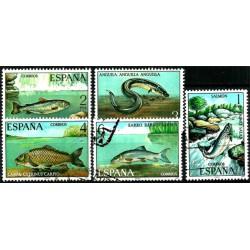 (2403 a 2407) 1977. Serie Completa. Fauna Hispánica (Usado)