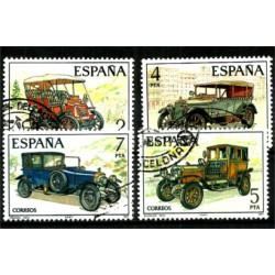 (2409 a 2412) 1977. Serie Completa. Automóviles antiguos (Usado)
