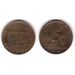 (876) Francia. 1924. 1 Franc (MBC)