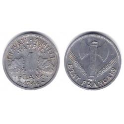 (902.1) Francia. 1944. 1 Franc (MBC+)