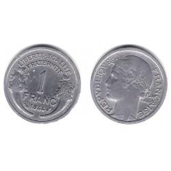 (885a.1) Francia.  1944. 1 Franc (MBC)