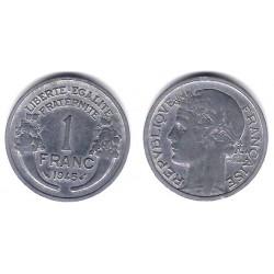 (885a.1) Francia.  1945. 1 Franc (MBC)