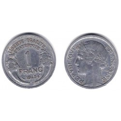 (885a.1) Francia.  1948. 1 Franc (MBC)