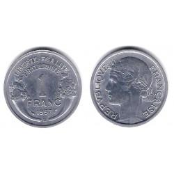 (885a.1) Francia.  1957. 1 Franc (SC-)