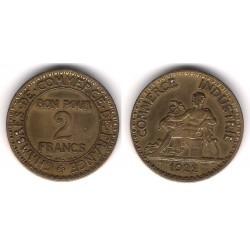 (877) Francia. 1922. 2 Francs (MBC-)