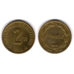 (905) Francia. 1944. 2 Francs (EBC)