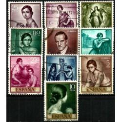 (1657 a 1666) 1965. Serie Completa. Romero de Torres (Usado)