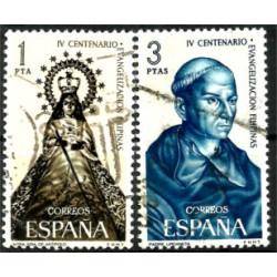 (1693-1694) 1965. Serie Completa. IV Cent. Evangelización Filipinas (Usado)