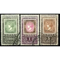 (1689 a 1691) 1965. Serie Completa. Centenario Primer Sello (Usado)