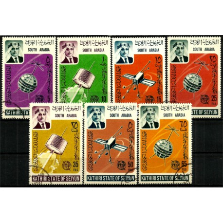 Arabia del Sur. Serie Completa. Satélites (Usado)