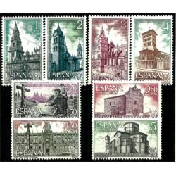 (2063 a 2070) 1971. Serie Completa. Año Santo Compostelano (Nuevo)