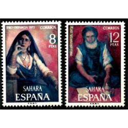 Sahara Español. 1972. Serie Completa. Pro Infancia (Nuevo)