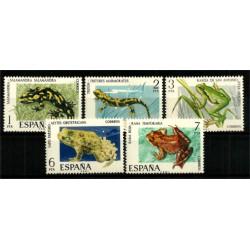 (2272 a 2276) 1975. Serie Completa. Fauna Hispánica (Nuevo)