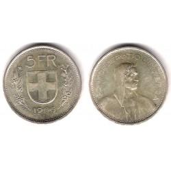 (40) Francia. 1966(B). 5 Francs (SC) (Plata)