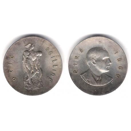 (18) Irlanda. 1966. 10 Shilling (EBC)