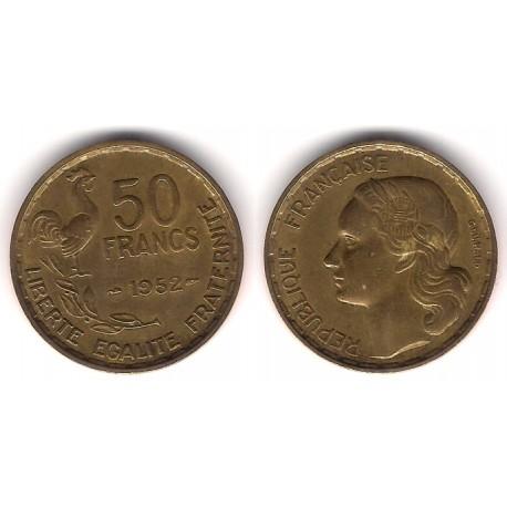 (918.1) Francia. 1952. 50 Francs (MBC)
