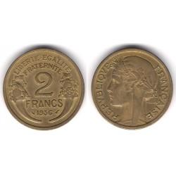 (886) Francia. 1936. 2 Francs (MBC)