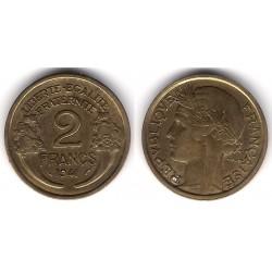 (886) Francia. 1941. 2 Francs (MBC)