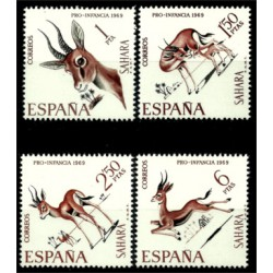 Sahara Español. 1969. Serie Completa. Pro Infancia (Nuevo)