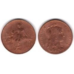 (843) Francia. 1915. 10 Centimes (BC)